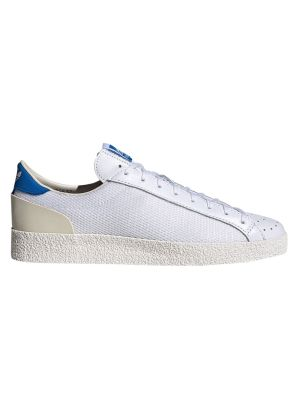 X New Order White And Blue Aderley Sneaker