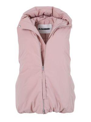 Peachy Pink Down Vest