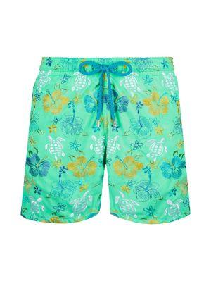Tropical Turtles Swim Trunks