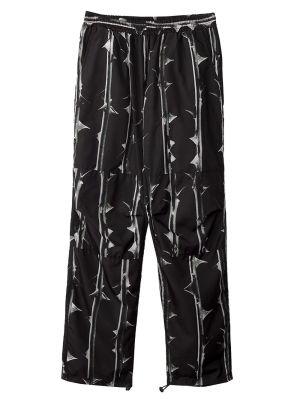 Thorns Print Pants Black