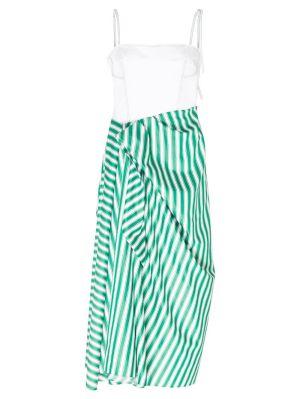 Corset Dress With Sarong Skirt