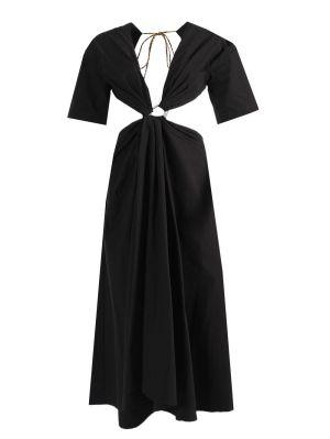 Cutout Dress With Paisley Hardware