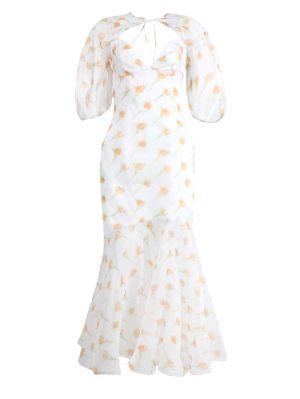 Sliced & Diced Bohemian Maxi Dress