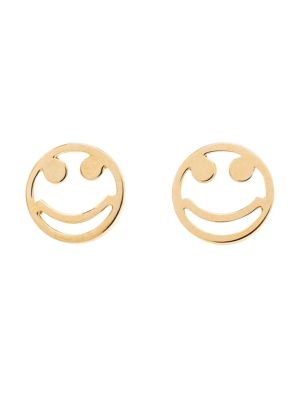 Smile Stud Earrings