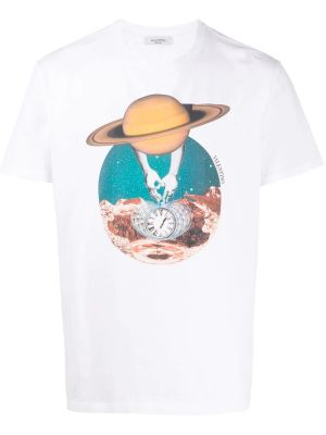 Multicolored Soul Planets T-shirt Saturn