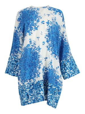 Delft Print Shift Dress