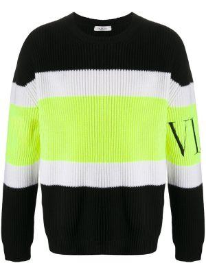 Multicolored Wool Rib Sweater