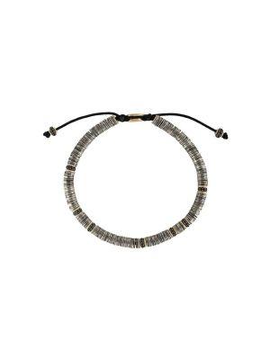 Gold-plated Tie Beaded Bracelet