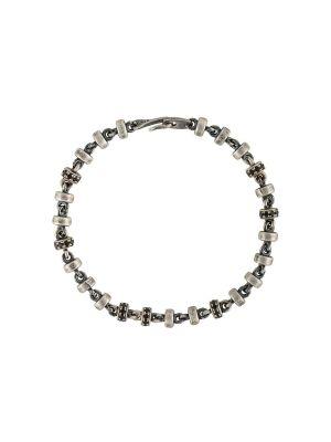 Silver And Black Omni Bracelet