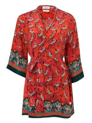 Najima Short Robe Dress