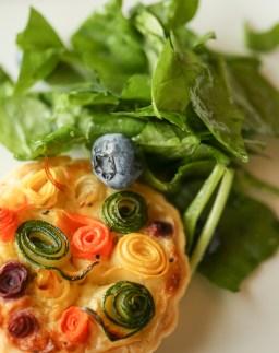 BrookToddPhotography - Zucchini Rose Tart