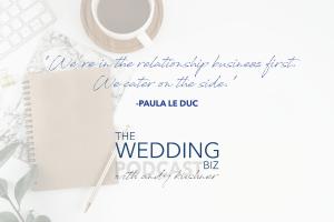 THE NEXT LEVEL: Paula LeDuc: Fine Catering, Design, Emotion and Relationships