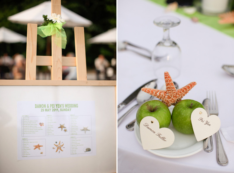 Avillion Port Dickson beach wedding decor. Anna Rina Photography