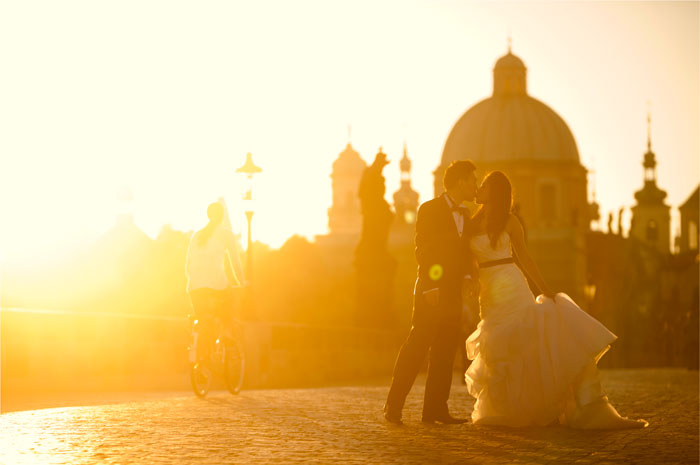 Adam Ong Photography. Prague pre wedding photos