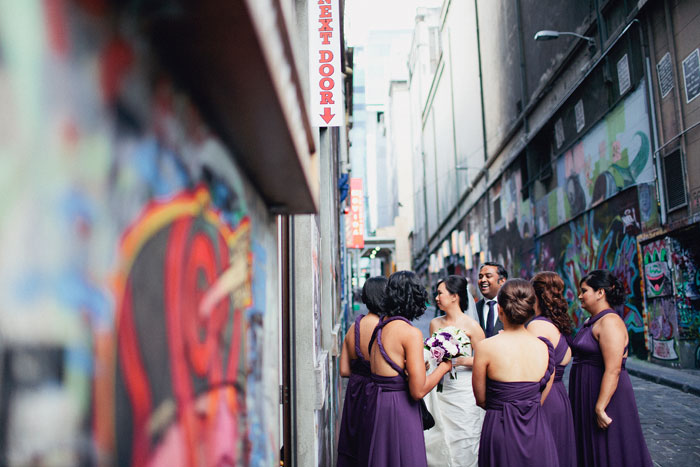 Purple themed wedding. Sayher Heffernan Photography