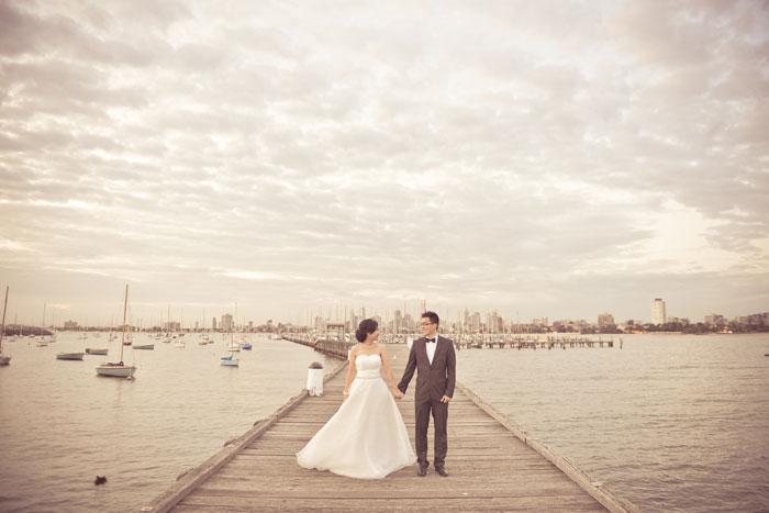 Pre-wedding photo shoot in Melbourne Australia