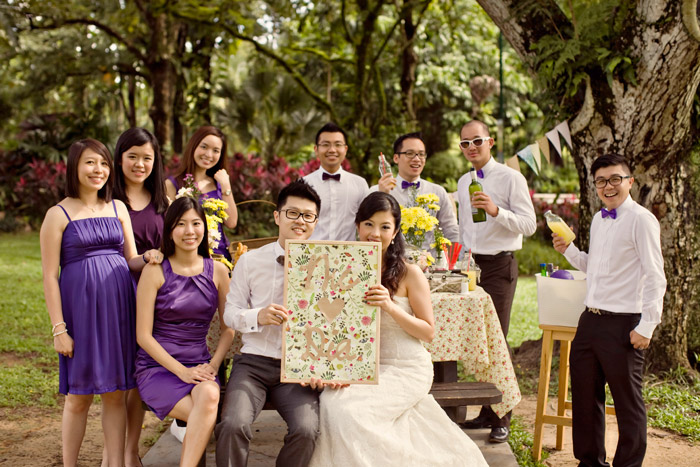© ZA Gallery. The Wedding Notebook - Breakfast at the Park