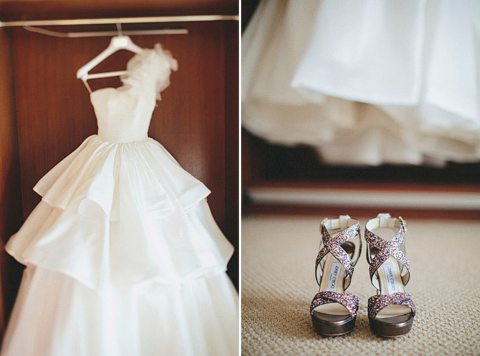 www.theweddingnotebook.com.Photography by History Studio. Bridal gown
