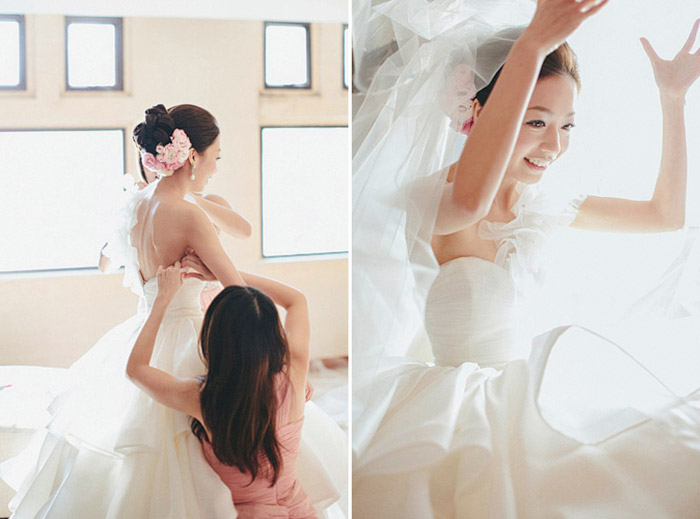 www.theweddingnotebook.com.Photography by History Studio. Wedding day at Repulse Bay