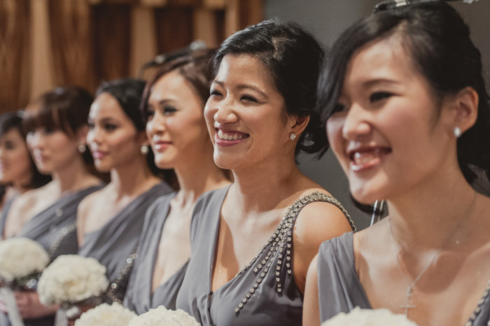 Bridesmaids' dresses with details. Photography by Creative Clicks. www.theweddingnotebook.com