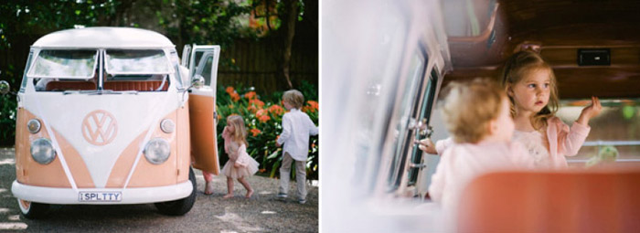Vintage peach garden wedding. Tealily Photography. www.theweddingnotebook.com