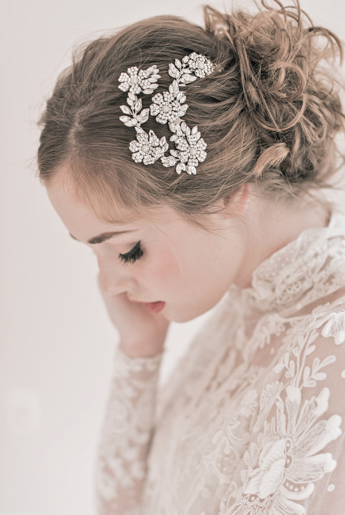 'Anastasia Comb' Enchanted Atelier Fall Winter 2013 Collection. www.theweddingnotebook.com