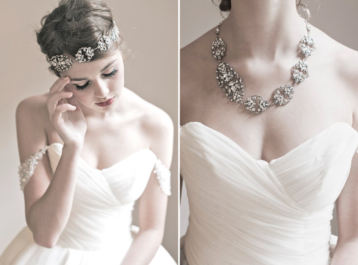 'Odette' Enchanted Atelier Fall Winter 2013 Collection. www.theweddingnotebook.com