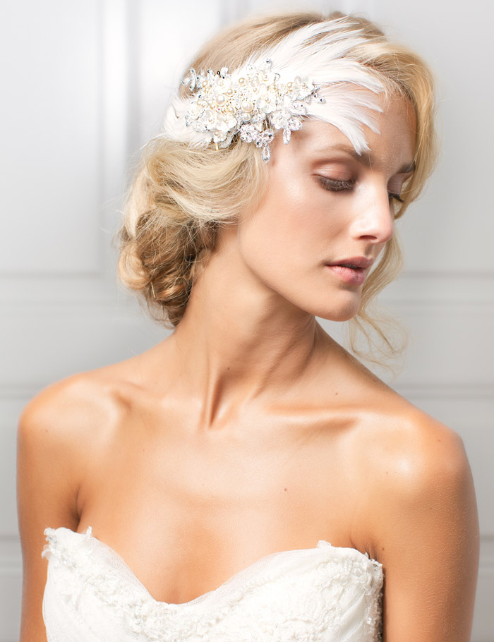 LIS – Jannie Baltzer 2013 Bridal Headpiece Collection. www.theweddingnotebook.com