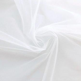 Diamond white tulle