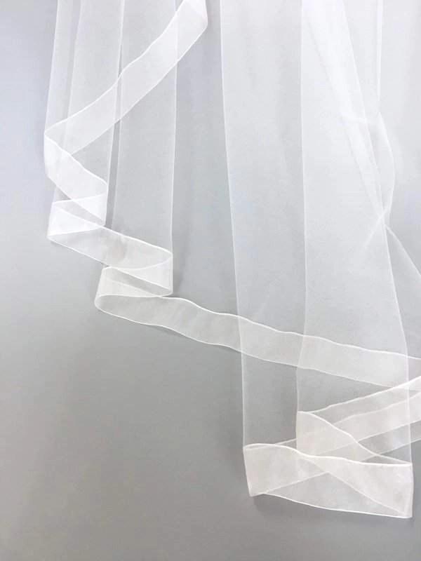 Wide organza ribbon