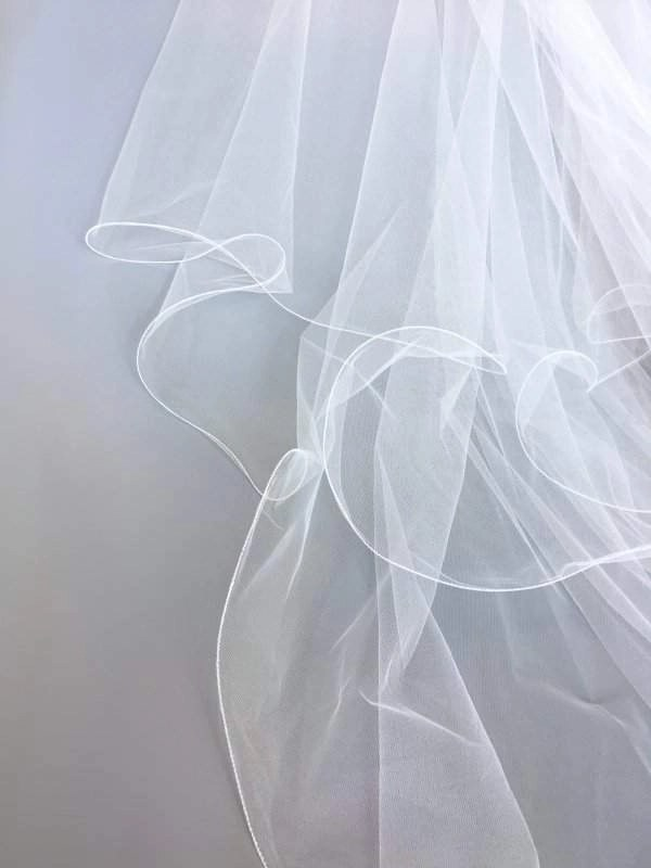 wired edge on veil