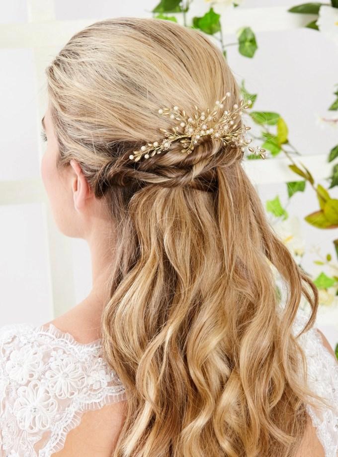 ar559 bridal hair comb