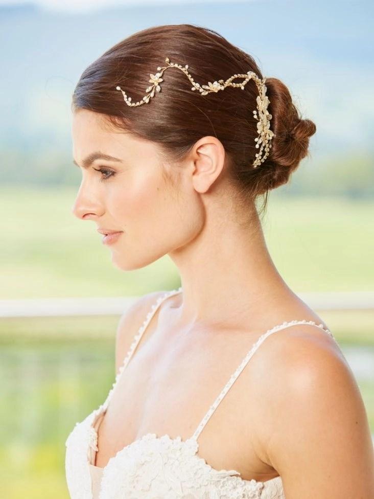 lp727 bridal hair vine