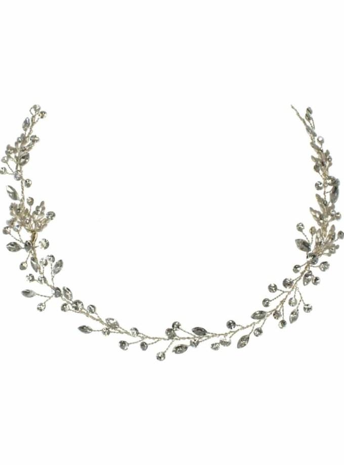lt621 bridal hair vine