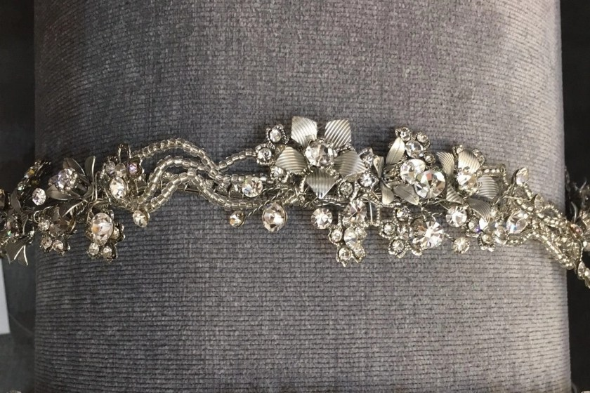 LT627 rhodium headpiece