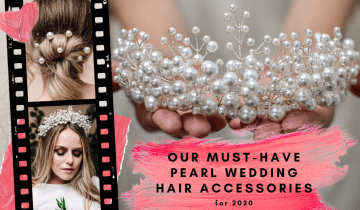 11 Stunning Pearl Wedding Hair Accessories