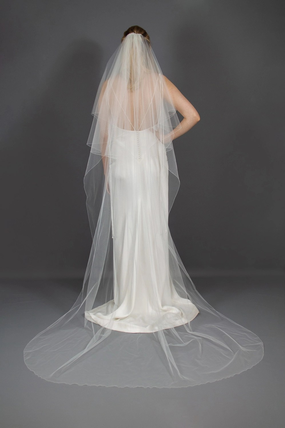 Wedding veil widths guide long two layer 72 inches wide