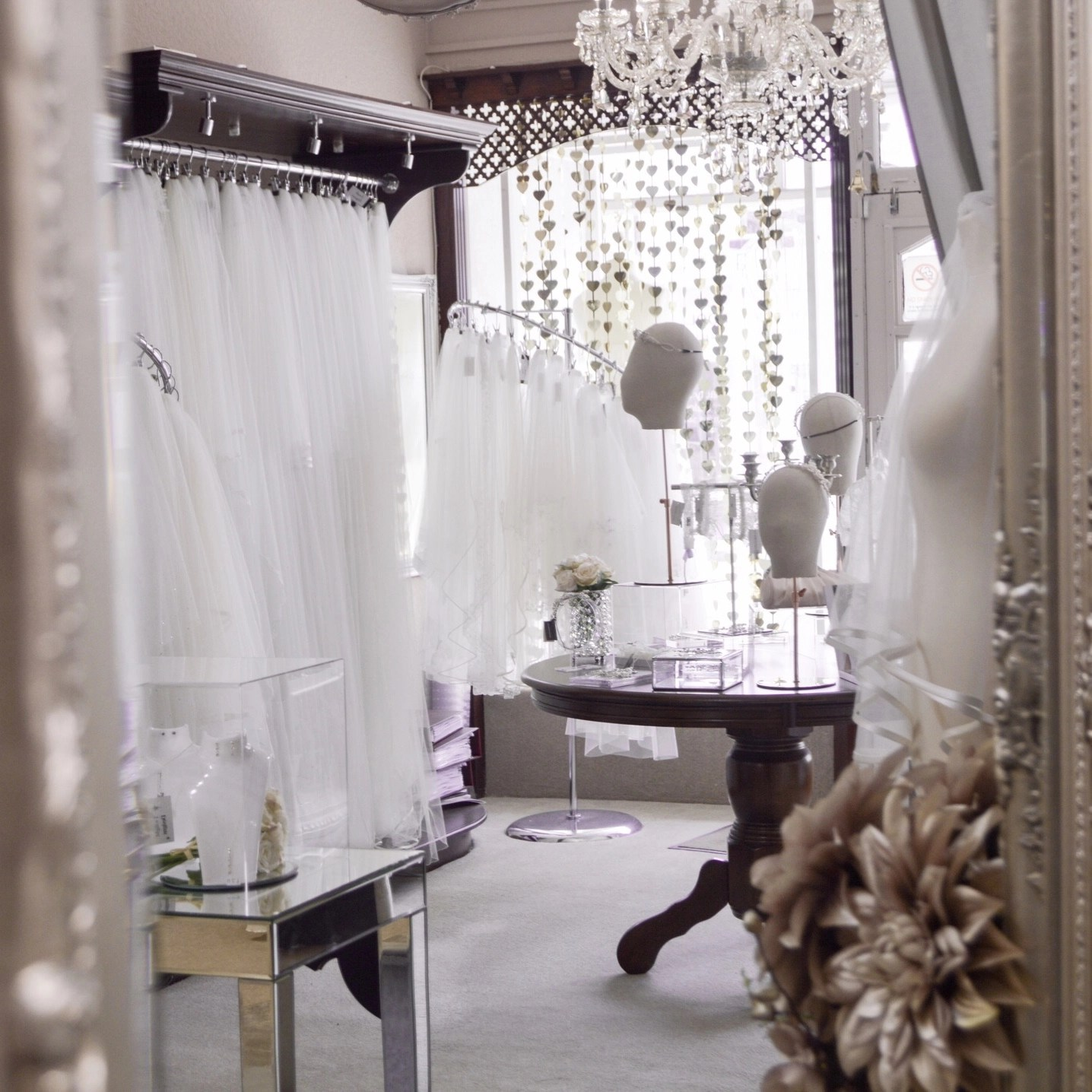 Taylors Bridal Boutique Blackpool - Inside The Wedding Veil Shop Online