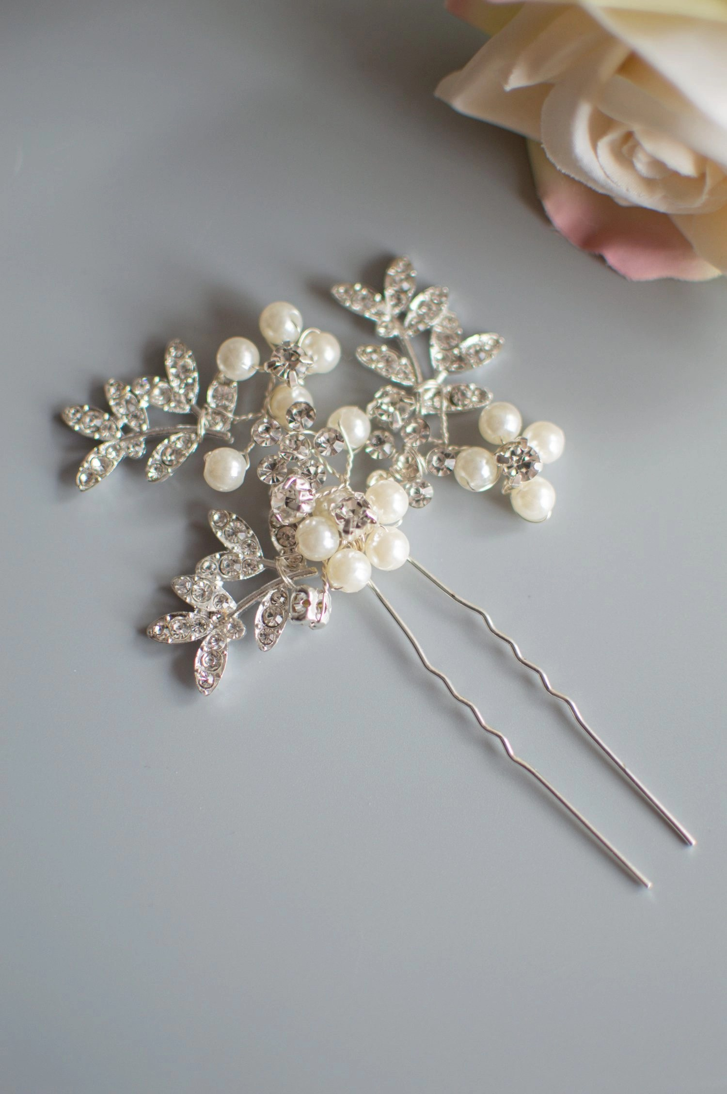 HP4255 bridesmaids hair pins