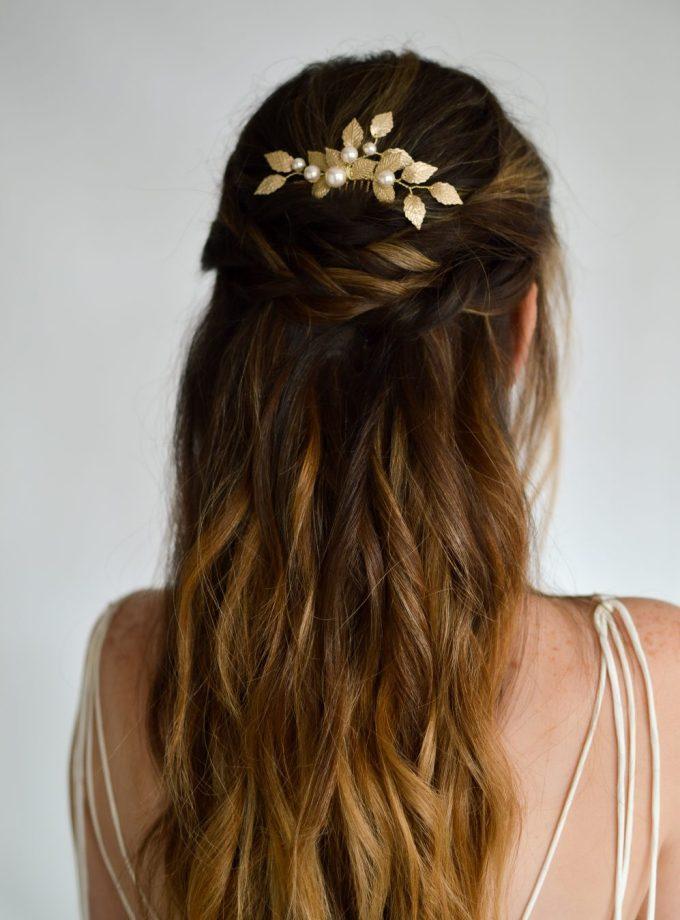 Aurelia bridal hair comb
