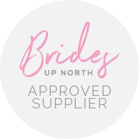 Brides Up North Approved Supplier Badge