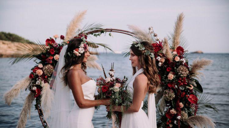 Love is Love: LGBTQI Destination Wedding Inspiration Shoot in sunny Ibiza