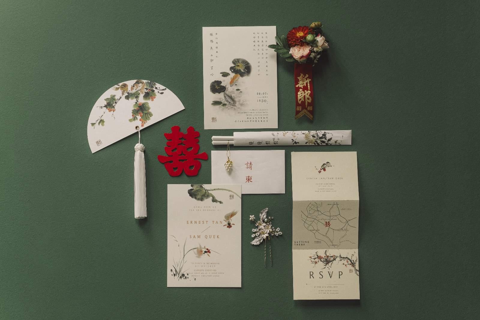Oriental Wedding Stationery