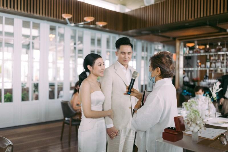 Spago Singapore wedding