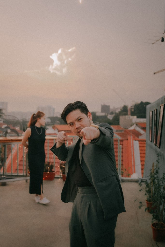 rooftop marriage proposal