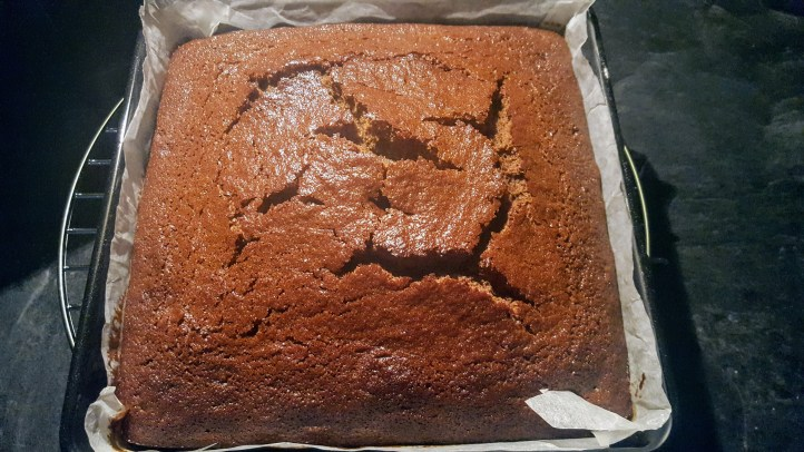 Nice bake on top Sticky Ginger Cake