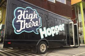 Creators of marijuana dating app launch pot party bus service 'High There Hopper' in Denver
