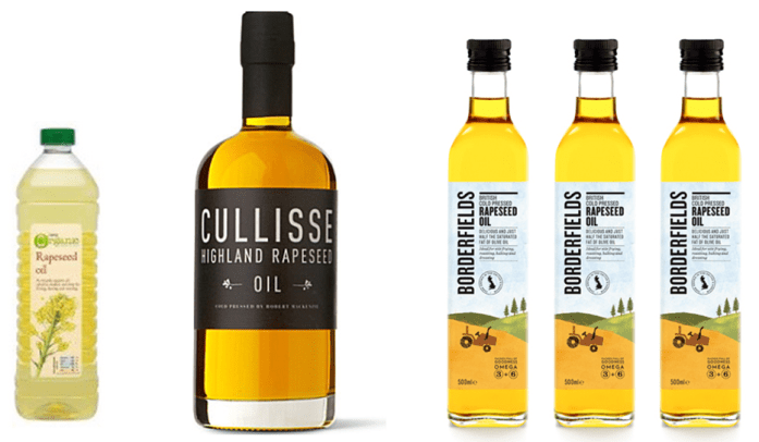 Locally produced buttery rapeseed oils