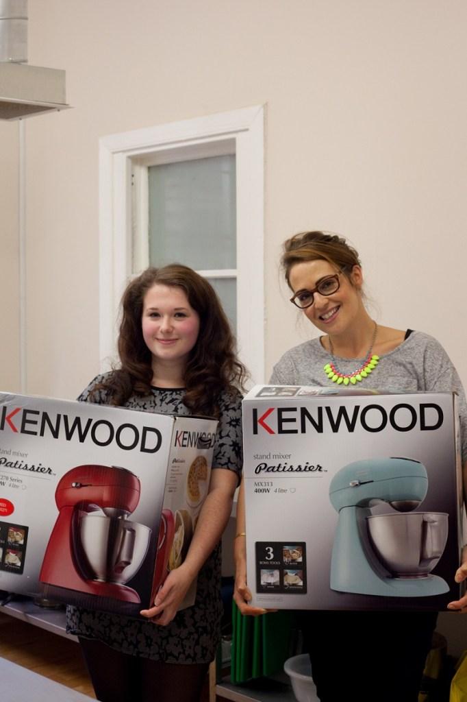 Winners of the Kenwood Patissiers
