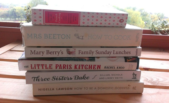 Swotting up before the bake off with the greats!